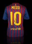 Lionel Messi Hand-Signed Jersey With Certificate Of Authenticity