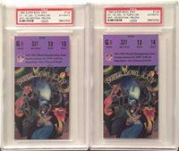 Joe Montana Autographed Signed Pair Super Bowl 24 Football Ticket Stub SB  XXiv MVP Memorabilia - 005c8cdf3