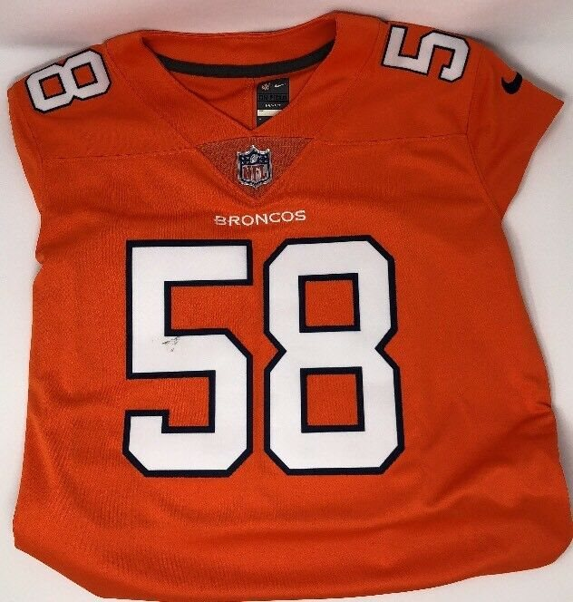 info for cf18a ee993 Nike Women's NFL Von Miller #58 Nike Color Rush Denver Broncos Jersey $150  NWT