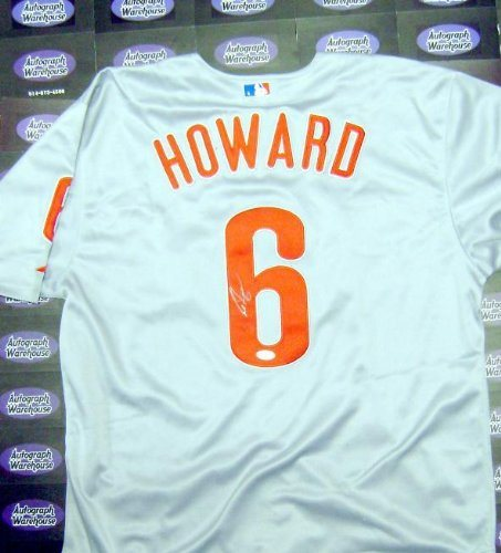 official photos 58ee2 f3feb Ryan Howard Autographed Jersey - World Series Champion MVP Size 50 JSA  Certificate - Autographed MLB Jerseys