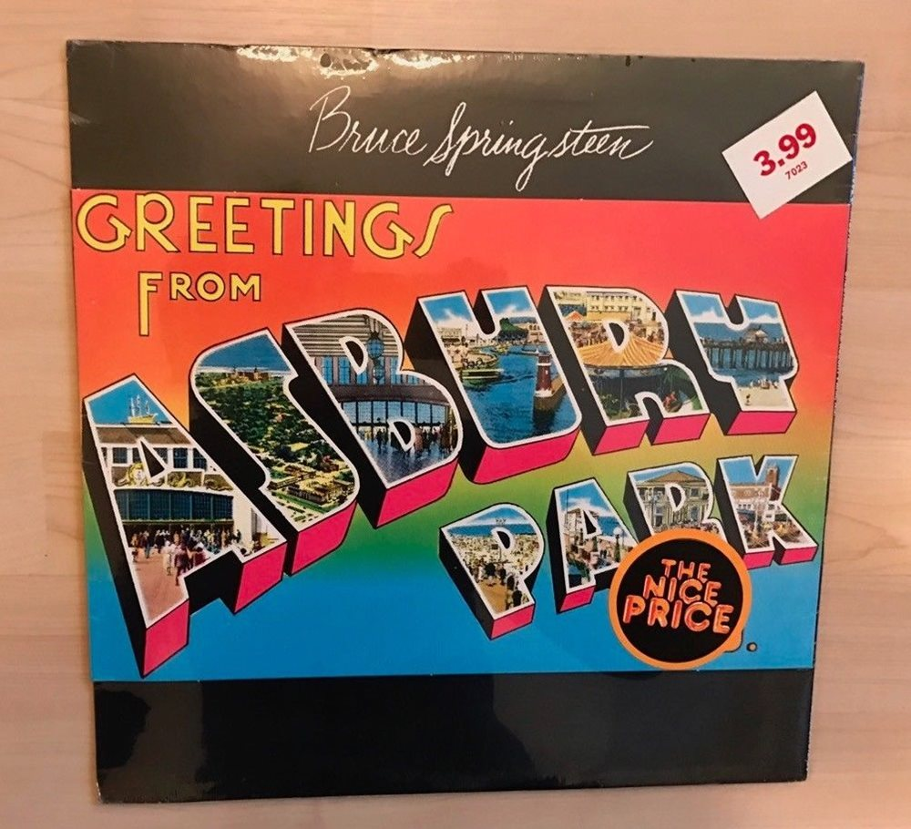 New Sealed Bruce Springsteen Greetings From Asbury P