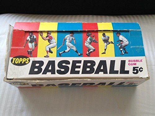 1966 Topps Baseball Card Set Empty Wax Pack Display Box Extra Bazooka