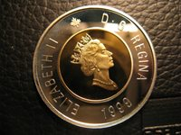 Canada 1999 50  Cent Gem Perfect Coin From Mint Set.