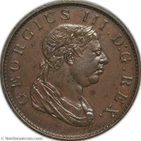 1813 Stiver Essequibo and Demerary NGC AU58 Essequibo and Demerary