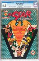 All Star Comics #12 CGC 6.5 DC 1942 Wonder Woman! JLA! Superman! Batman! E9 cm