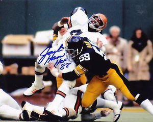 c89c82a56 Jack Ham Pittsburgh Steelers Hof 88 Autographed 8x10 Photo - Authentic  Signed Sports Autograph. Click To Enlarge