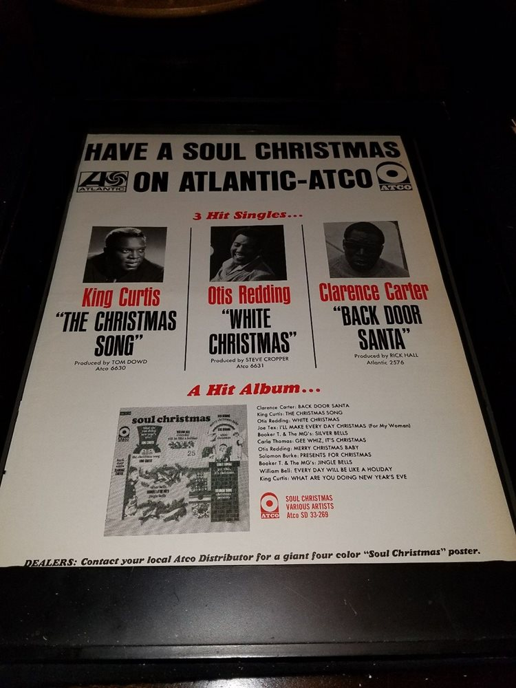 click to enlarge - Otis Redding White Christmas