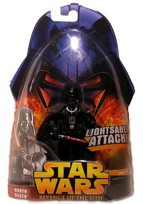 Star Wars Darth Vader Action Figure Moc Rots Toy 11 Revenge Of The Sith Hasbro
