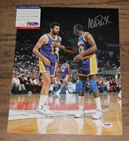 62fb0f0ecb2 Magic Johnson Autographed Signed 11x14 Photo PSA/DNA #A