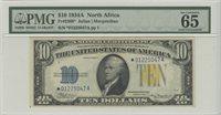 1934A $10 N. Africa PMG 65 GEM UNC FR# 2309* Star Note