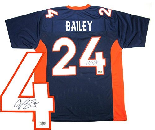 Champ Bailey Jersey - Custom Navy Blue