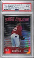 2000 Topps Stadium Club Chrome - True Colors - Refractor #TC8 - Ken Griffey Jr. [PSA 10 GEM MT]