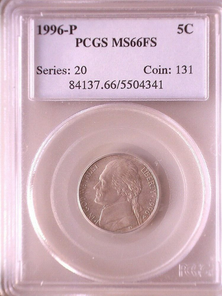 2017 P Jefferson Nickel 5c PCGS MS66FS Full Steps