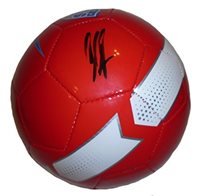 86533f03afb Clint Dempsey Autographed   Signed Red 2014 World Cup Team USA Logo Soccer  Ball w