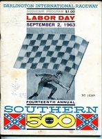 Darlington Raceway-Southern 500-NASCAR Race Program