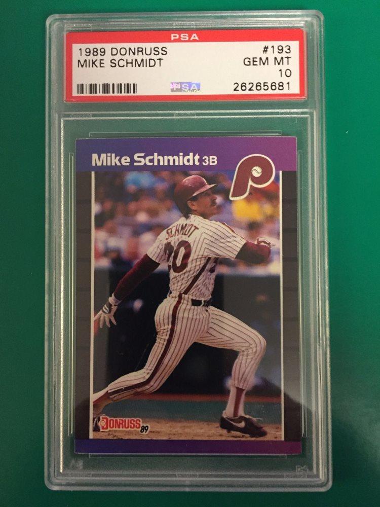 1989 Donruss 193 Mike Schmidt NM//M Near Mint//Mint