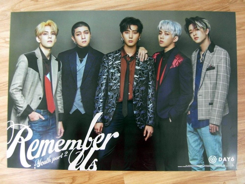 DAY6 - REMEMBER US : YOUTH PART 2 [ORIGINAL POSTER] *NEW* K-POP