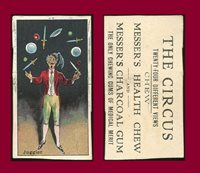 Collectors Com Trading Cards Messer S E44 Messer S Gum The Circus