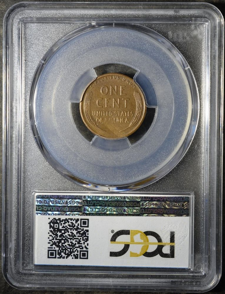 1916-S PCGS AU58 Lincoln Cent Wheat Penny Old Copper 'Frisco