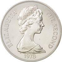 Tristan Da Cunha, Elisabeth II, 1 Crown 1978, KM 2a