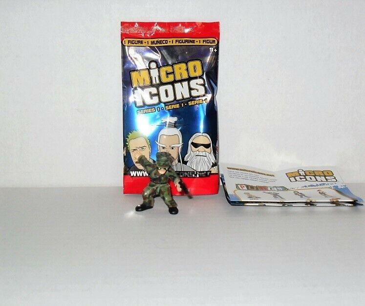 MICRO ICONS SERIES 1 COMMANDOS LOOSE SINGLE FIGURE GAS MAN