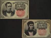 1874-1876 Fifth Issue, 10 Cent Fractional Currency, FR# 1265, Pair of Notes