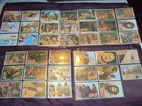 PLANET OF THE APES - VINTAGE - TRADING CARDS - 1967 - GREEN BACKS - COMPLETE NM
