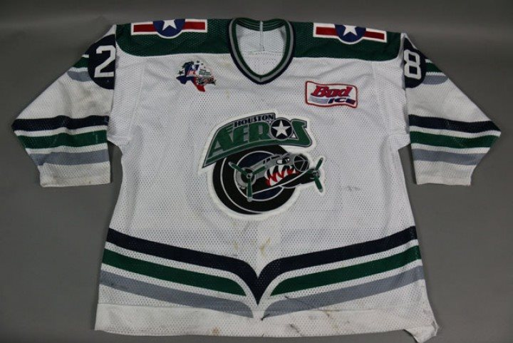 Kevin Malgunas Game Used Worn Aeros Jersey d84d25d8a
