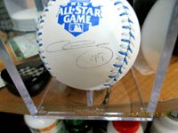 Chris Sale Beckett Authenticated Autographed 2012 All Star Game OMLB Baseball.