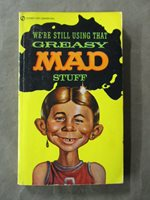 Mad Magazine Paperback - Greasy Mad Stuff / Signet