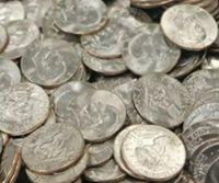 FIVE Coin SET P D 1976✯ ✯5 Eisenhower Ike Coins MIX SILVER DOLLAR LOT 1971-1978