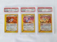 Pokemon 2002 Japanese Trainers Magazine Dratini, Dragonair & Dragonite PSA 10