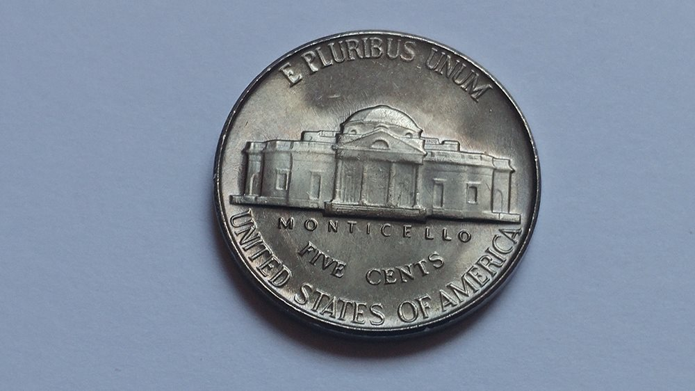 1956 Jefferson Nickel UNC Mint State Coin