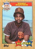 1992 Score Baseball Card #779 Tony Gwynn A