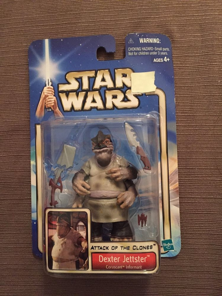 Star Wars Figure 2002 Attack Of The Clones Dexter Jetts