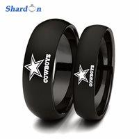 Dallas Cowboys Logo Laser Engraved Ring