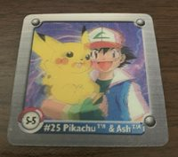 NM Artbox Pokemon Action Flipz Series One #33 Slowpoke and Slowbro