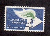 Scott #1234... 5 Cent... Alliance For Progress....MNH ...25 Stamps