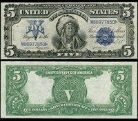 FR. 278 $5 1899 Silver Certificate XF