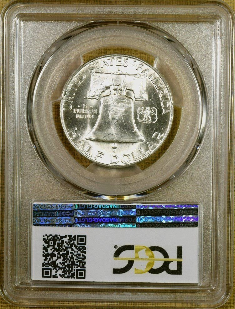 1951-S//S PCGS MS64 RPM FS-501 Franklin Half Dollar 100/% White