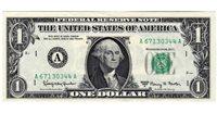Fr.1901-A $1 1963 A Boston CU