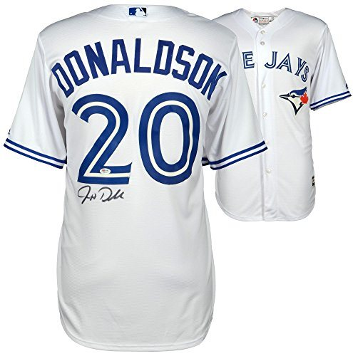 new concept 650f8 cf941 Josh Donaldson Toronto Blue Jays Autographed White Majestic Jersey -  PSA/DNA Certified - Autographed MLB Jerseys
