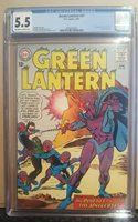 Green Lantern #37 CGC 5.5 (1st app of Evil Star!!) - 2092013020 - 1965
