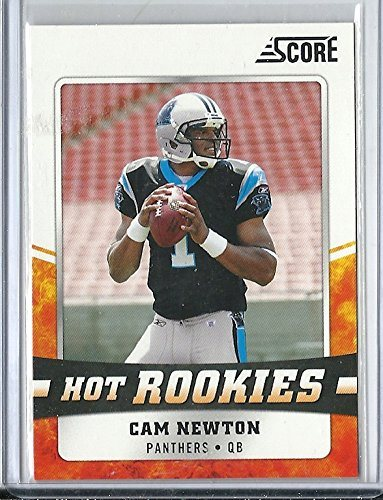 2011 Score Football 6 Cam Newton Hot Rookies Rookie Card