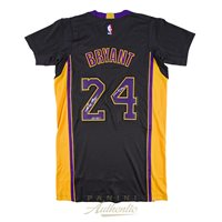 62fa94c9494 Kobe Bryant Autographed Black Authentic Lakers Jersey with Mamba Out  Inscription ~Limited Edition to 124