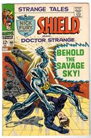 Strange Tales #165 with Dr. Strange & Nick Fury Agent of SHIELD, Fine - VF Cond