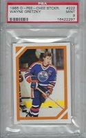 PSA 9 MINT LOW POP Wayne Gretzky 1985 O-Pee-Chee OPC Sticker #222 Offers OK