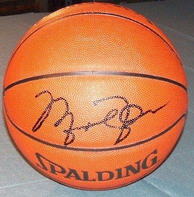 new style 671a3 3ca36 Michael Jordan Autographed Basketball