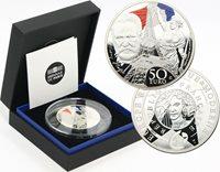 50 Euro 2017 Monnaie de Paris, Europa la France Silver
