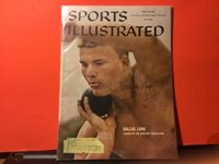 DALLAS LONG SIGNED 1960 SPORTS ILLUSTRATED/ SHOT PUTTER